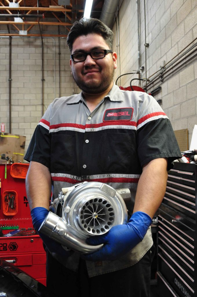 Meet Hector Lezama from Bud's Diesel