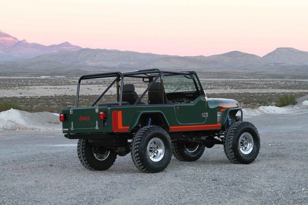 Sel Jeep An All New Cj8 Scrambler
