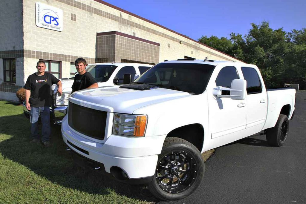 Duramax owners Nick Ryan and Brock