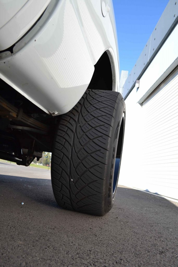 Nitto 420S tires are used for both track and street use.