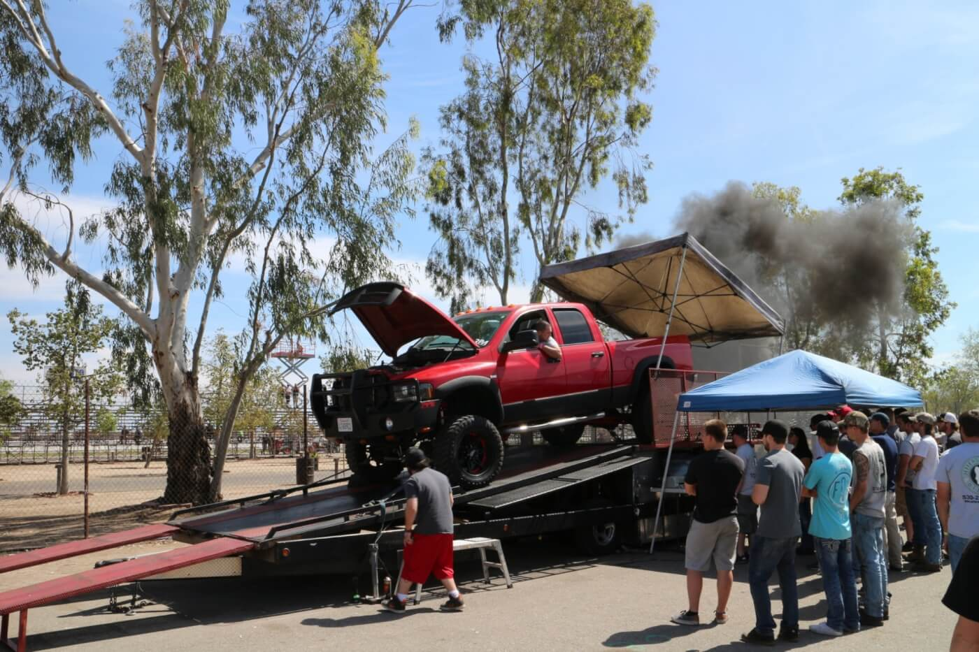 Jefferson State Diesel brought out their above-ground dyno. It was, as expected, loaded all weekend.