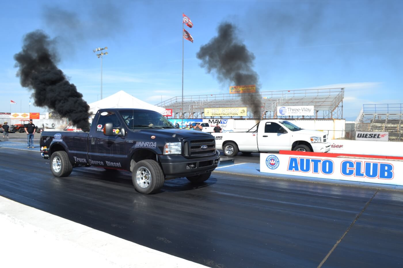 Diesel's Cummins-powered nitrous-assisted Ford
