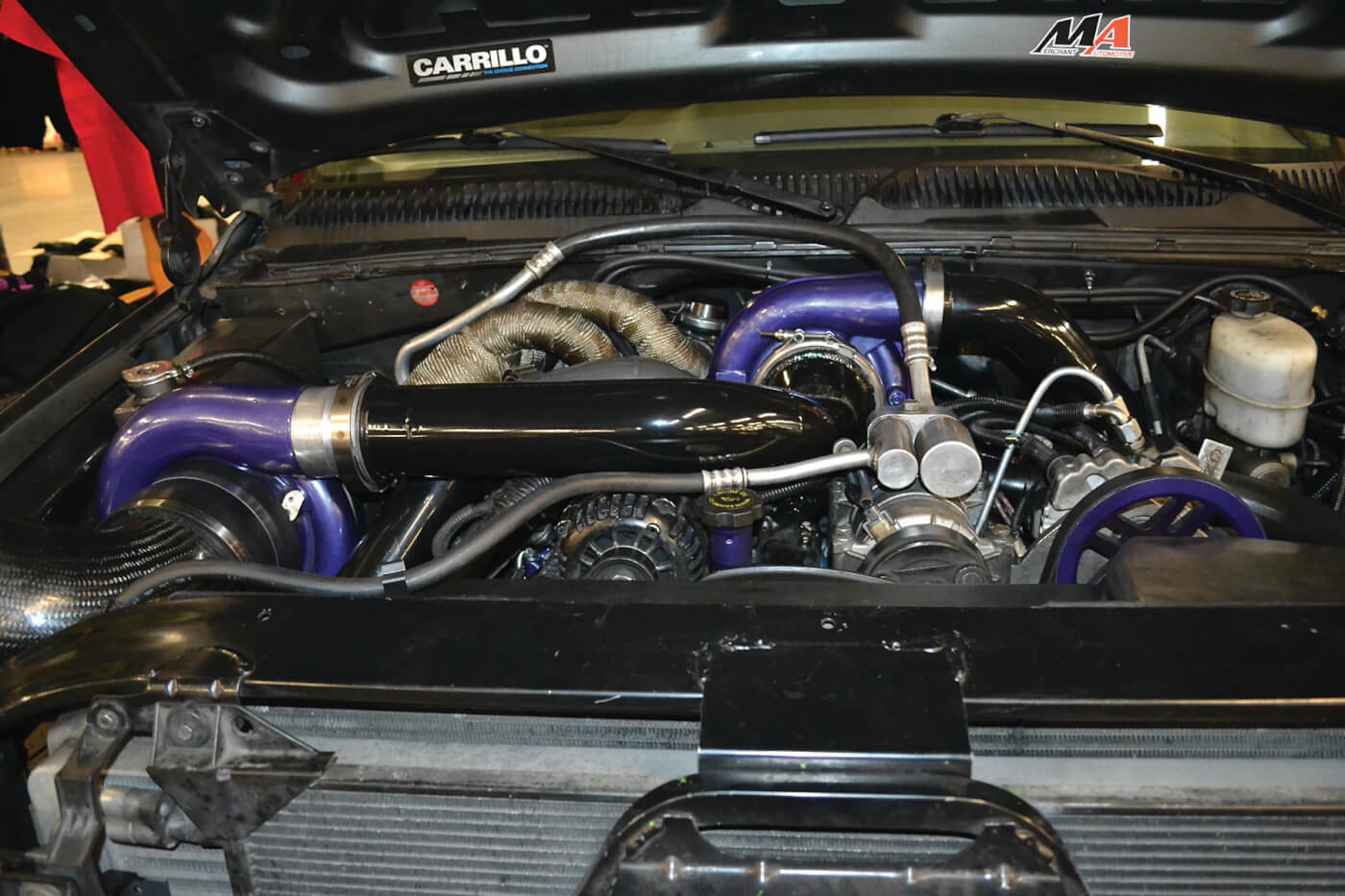 Chris continued the surprising Duramax domination of the Gauntlet Challenge with a strong showing in both horsepower and torque.