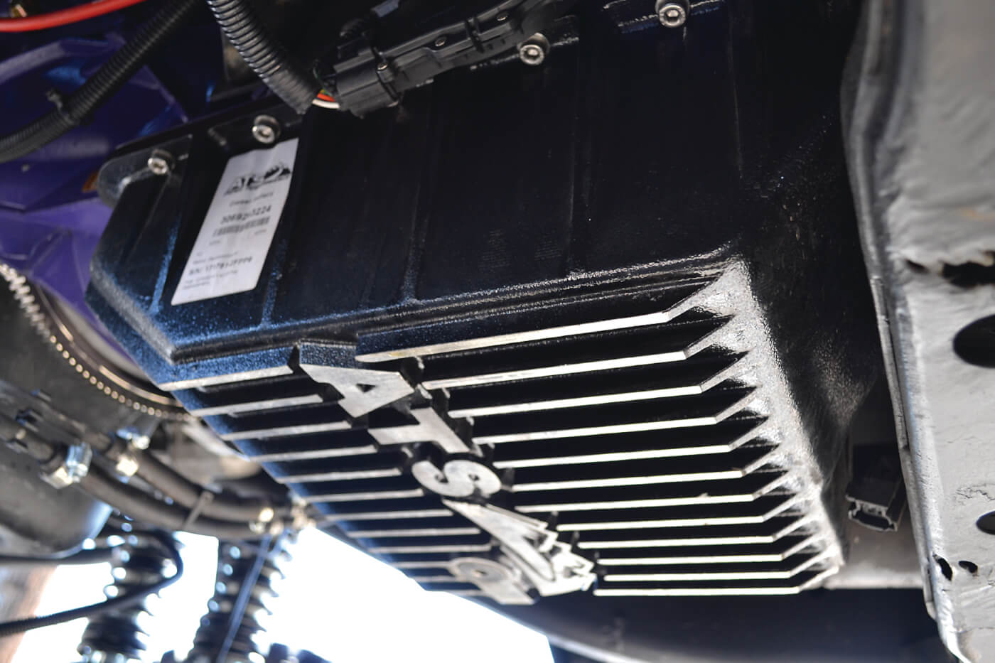 Looking under the truck, we spotted one of the coolest new products available from ATS