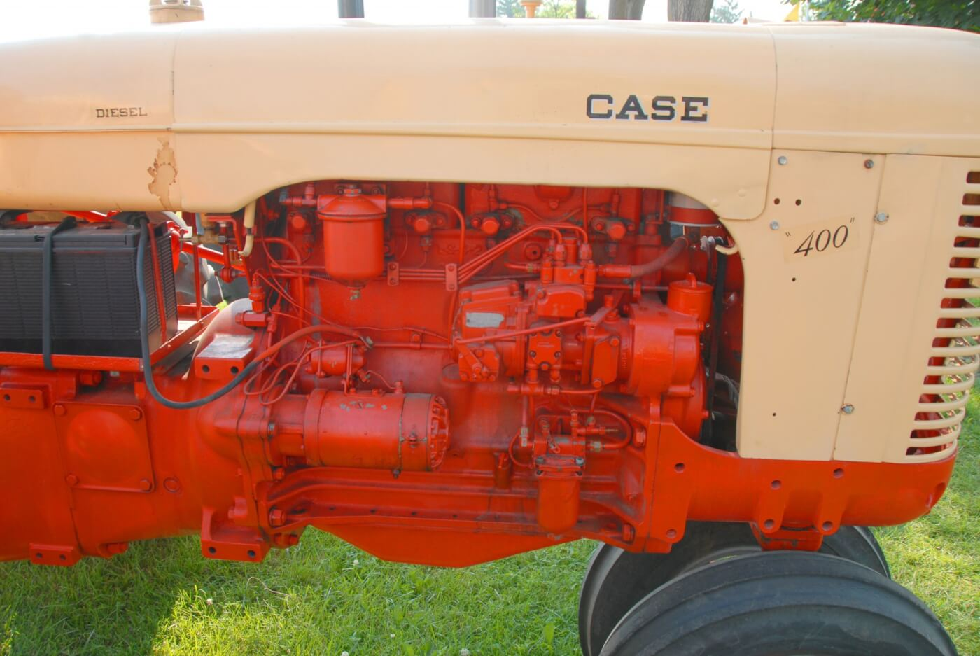 Tractor Talk A 1955 Case 400d Compact Power 1957 International Wiring Harness On The Pump Side Of 251d You Can See American Bosch Psb Series