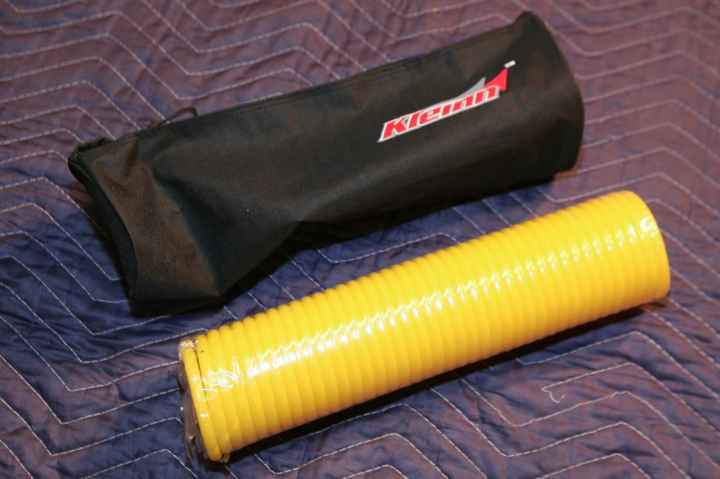 5. The Kleinn air system even comes with a 35-foot-long air hose to make inflating a buddy's flat tire a cinch.
