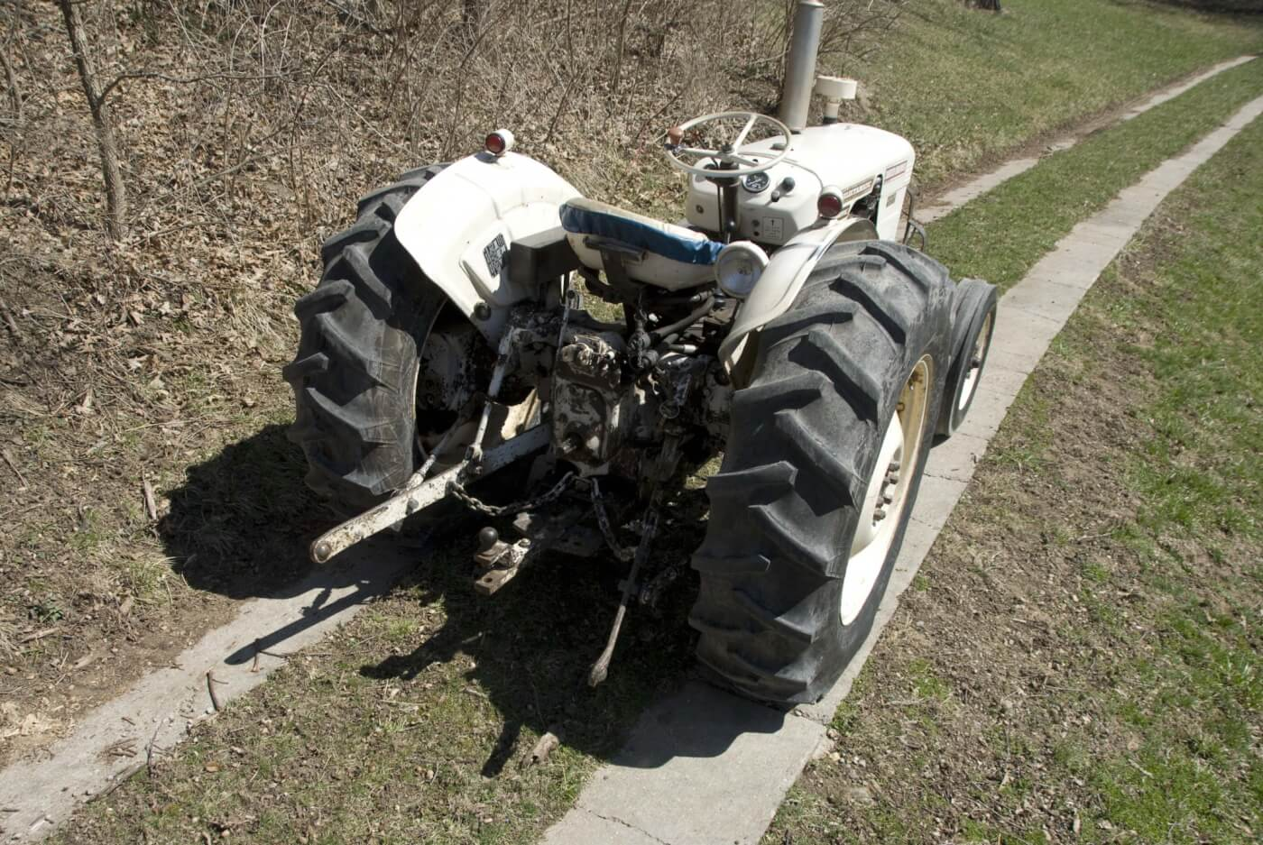 Tractor Talk Call Dave 1967 David Brown 780 Selectamatic It Was An Hydraulically Controlled Rear Wheel Drive Transmission The Business End Shows A Well Equipped Three