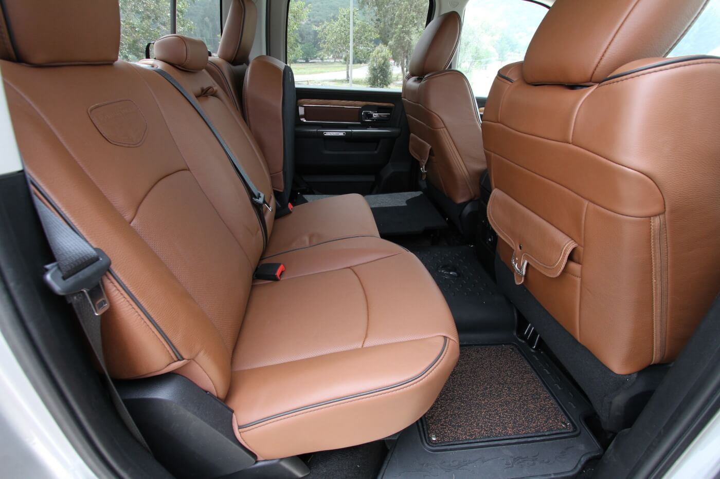 15. The rear seating is almost as roomy as the front seats.