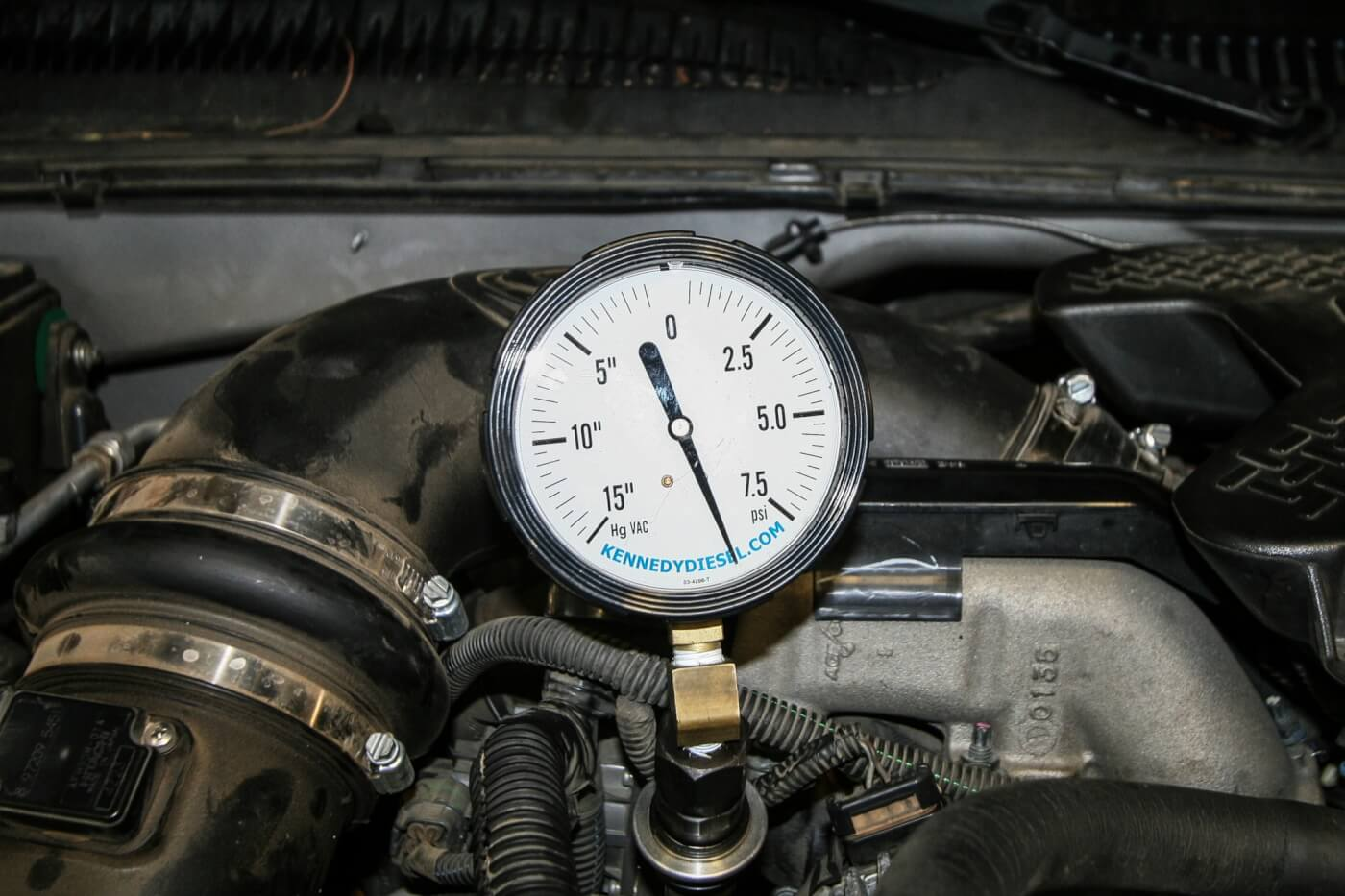 With the lift pump and fueling upgrades in place, our fuel pressure at
