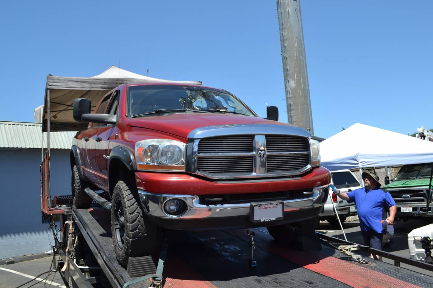 Jeremy Torgerson was another Dodge owner who laid down some pretty impressive results. With compound turbos and some mild injectors, the Ram made 562 hp to the wheels on its tow tune, and 603 hp to the wheels on its all-out programming.