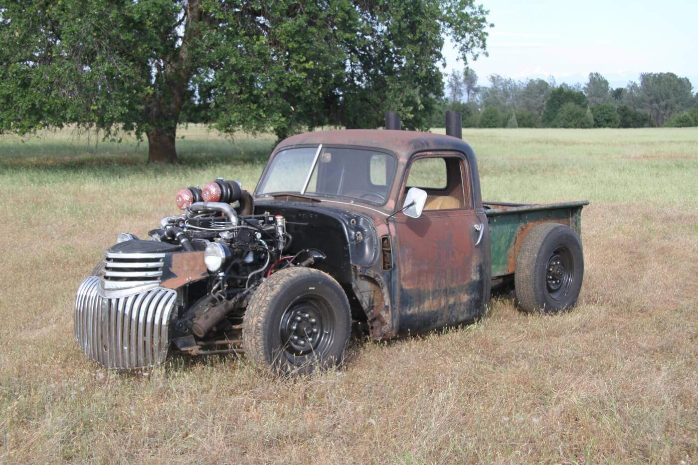 New Products Diesel Swaps Everything Youll Need To Pull Off A Wiring Diagram Further Gmc Cheyenne Pickup Truck On 1950 Ford F1 Dw 1511 Prods 8