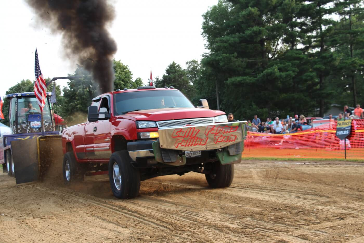 Aaron Cully has been at it for years in his LLY Duramax. He's a regular in the UPA Work Stock Diesel Truck Class, where there is no shortage of Duramax competition.