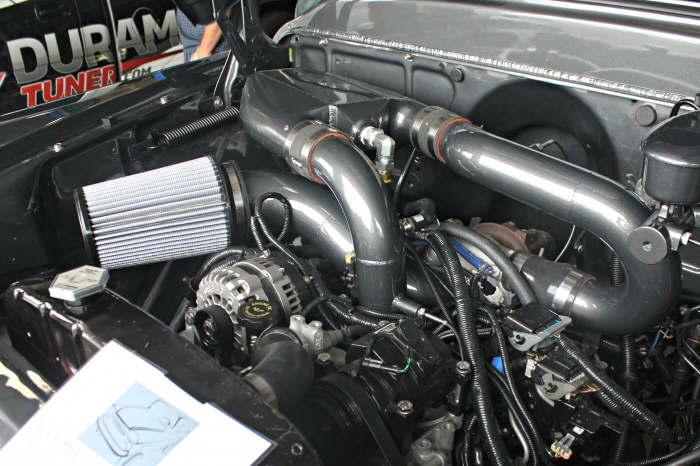 Make 600+HP Under the Radar: Duramax Tuner's 2001-2004 LB7 Stealth on lb7 exhaust diagram, lb7 injector parts diagram, duramax diesel engine diagram, lb7 motor diagram, 05 duramax fuel system diagram, lb7 thermostat diagram, lb7 engine, vacuum diagram, lb7 fuel diagram,