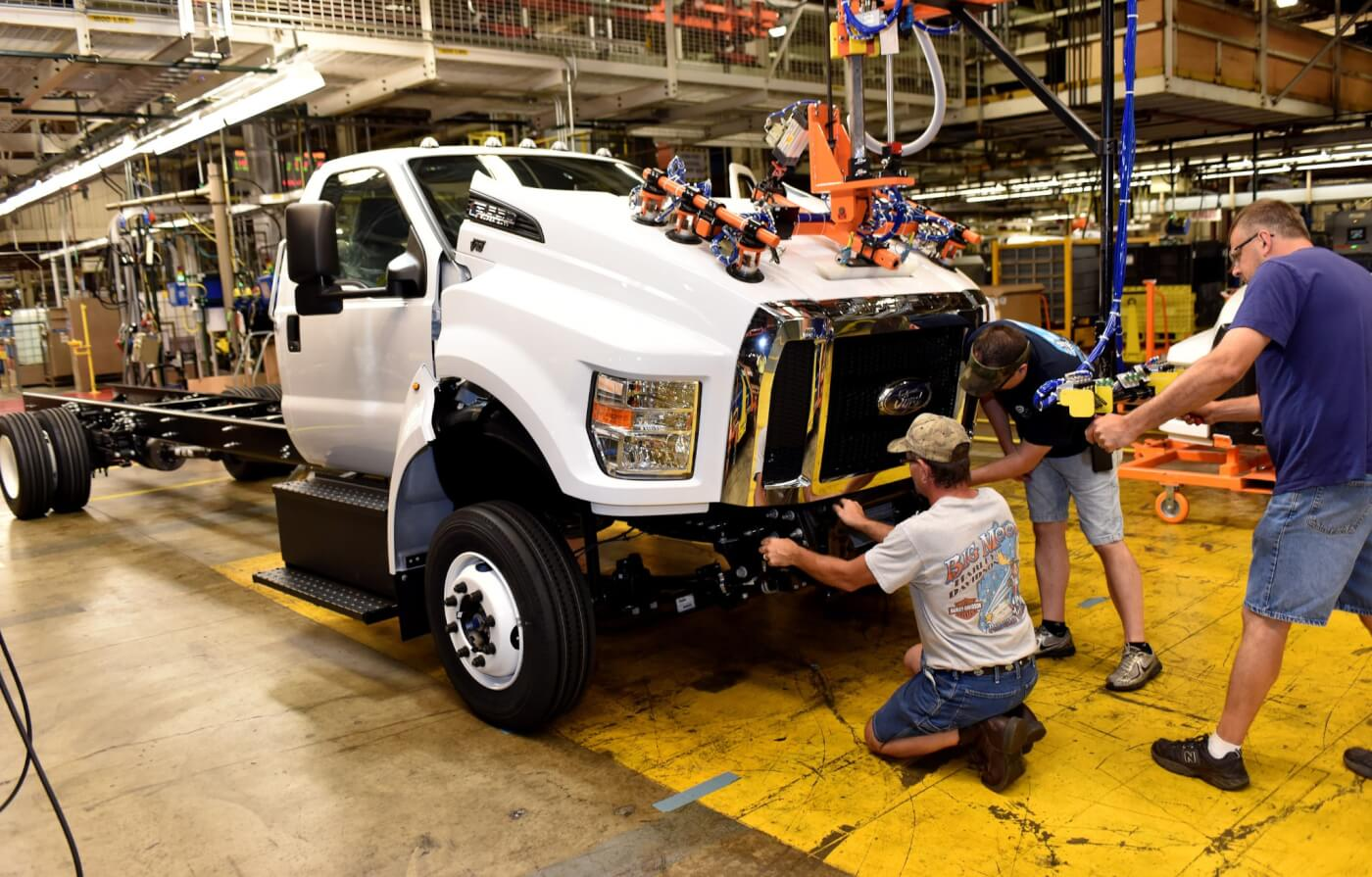 New Ford F-650/750s Roll Off The Line