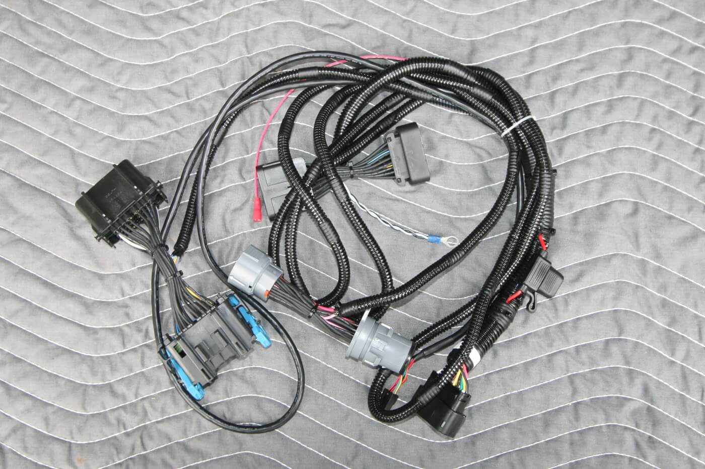 3. A quality unit is nothing without a proper infrastructure, so Banks goes to great lengths to create OEM-quality harnesses that can stand the abuse and are cut to exact dimensions.