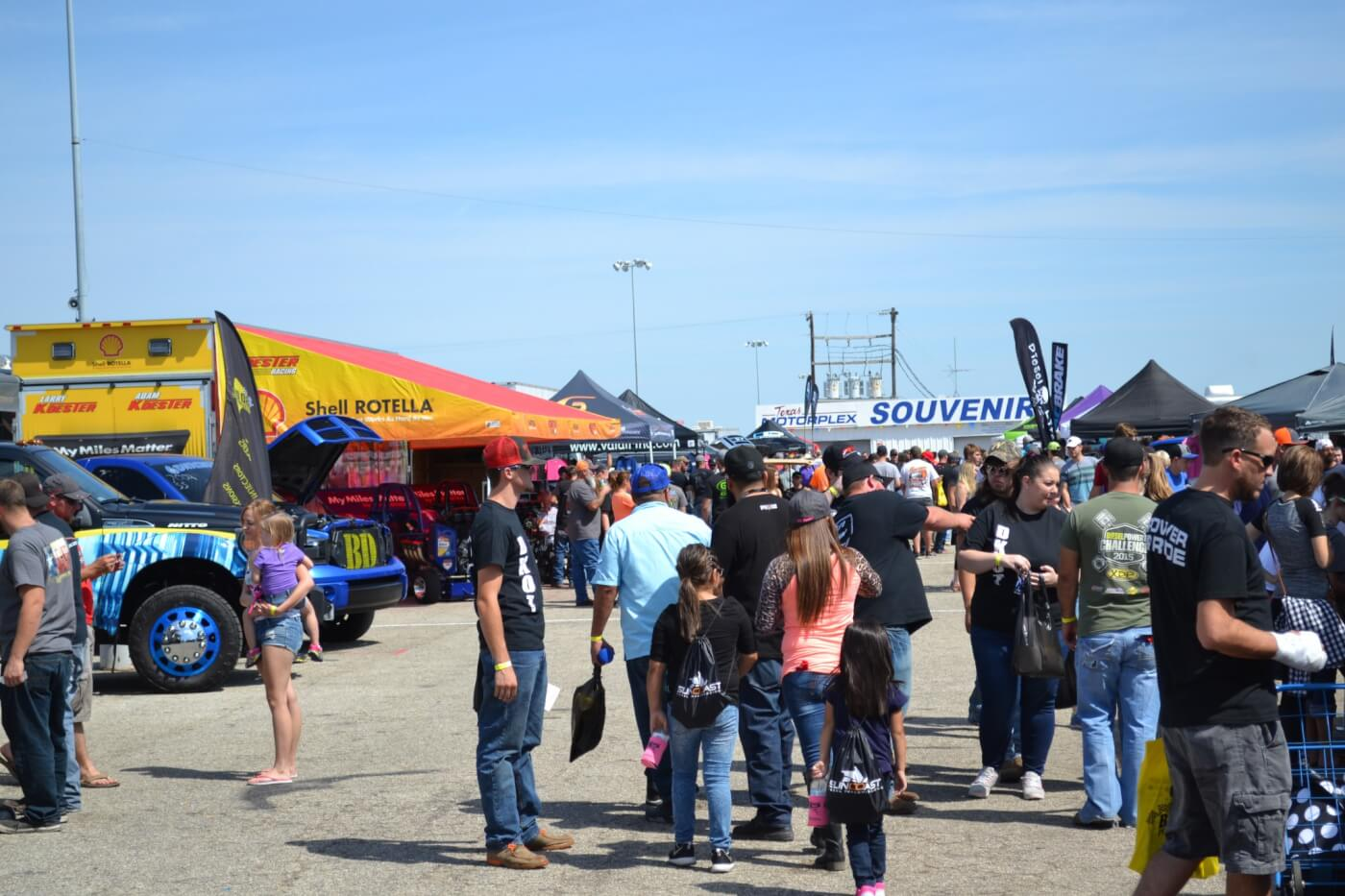 A big part of the World Finals is the Vendor area, which hosts a number of companies who are big on diesel performance. There was BD Power, Shell, Fleece Performance, Suncoast Diesel Transmissions, Pacbrake, Valair, and a host of other companies in attendance with the latest and greatest products designed for diesel pickups.