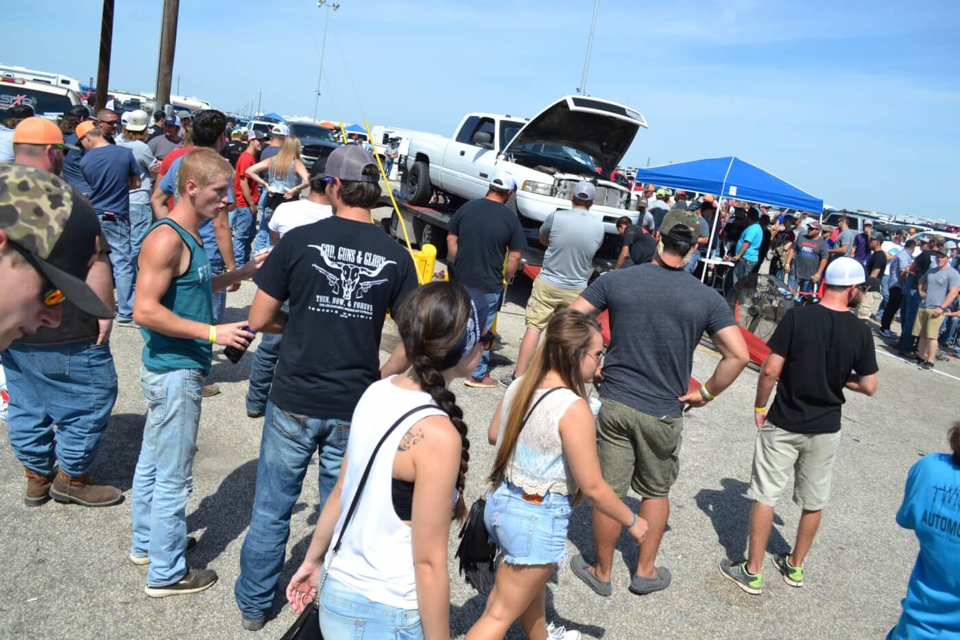 At the edge of the show 'n shine area was a chassis dyno, where spectators and competitors alike could get some legitimate horsepower and torque numbers.