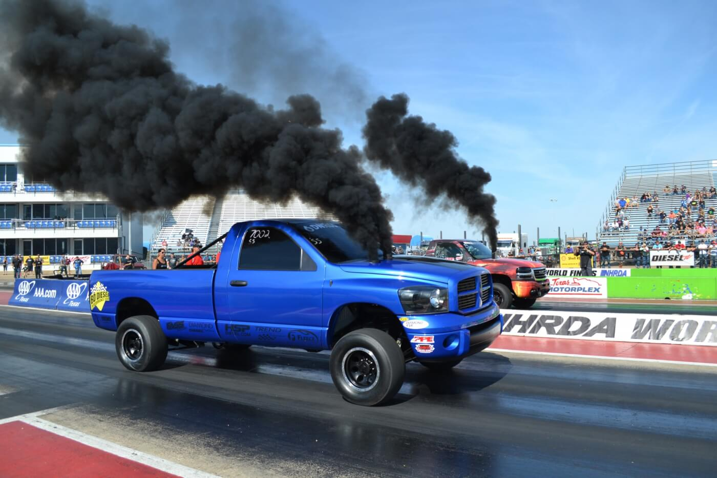 Derek Rose had a stand out performance in Super Street, resetting the NHRDA World Record with a 9.25 second elapsed time in his 1,500 rear-wheel horsepower Ram.