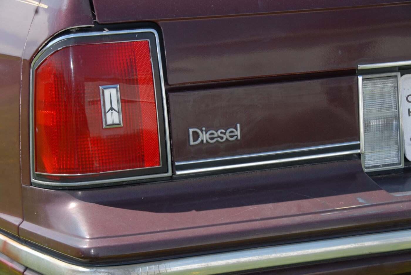 Other than the black smoke and the noise, there was little to signify a diesel from a gasser aside from the badge on the trunk lid. The diesel had a slightly larger fuel tank than the gas cars, which gave them a cruising range of around 600 miles.
