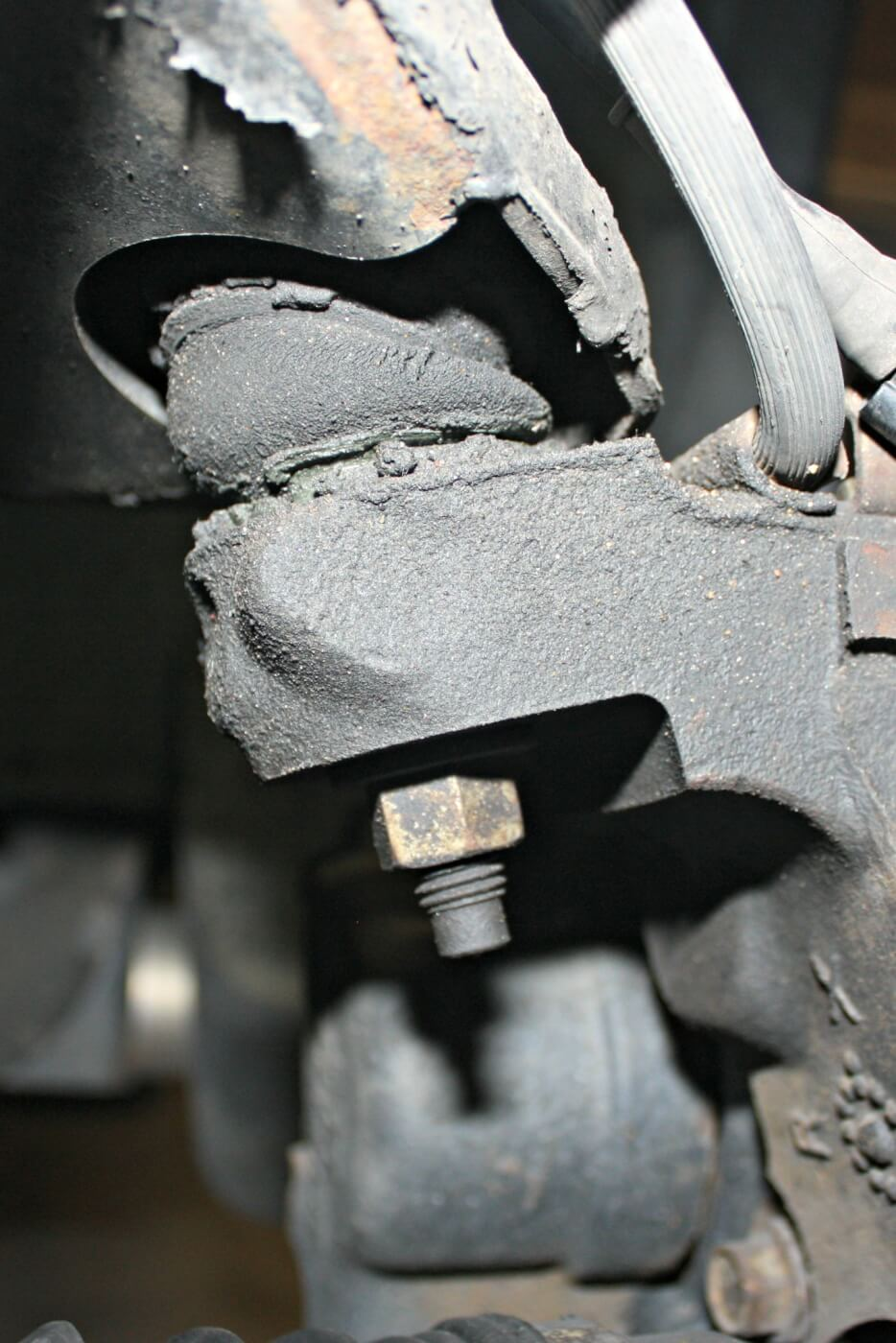 3/ 4. After 142,000 miles, the factory tie rod ends, idler arm and ball joints were starting to show signs of wear and had started to show some play. This caused the truck to wander a bit at highway speeds. While some upgrades had already been done to the front of the truck (notice the tie rod sleeves) the Ultimate Steering Package from Dmax Store includes much stronger tie rods and a straight center link and when paired with their indestructible Death Grip idler arm you'll see improved steering response and unmatched durability.
