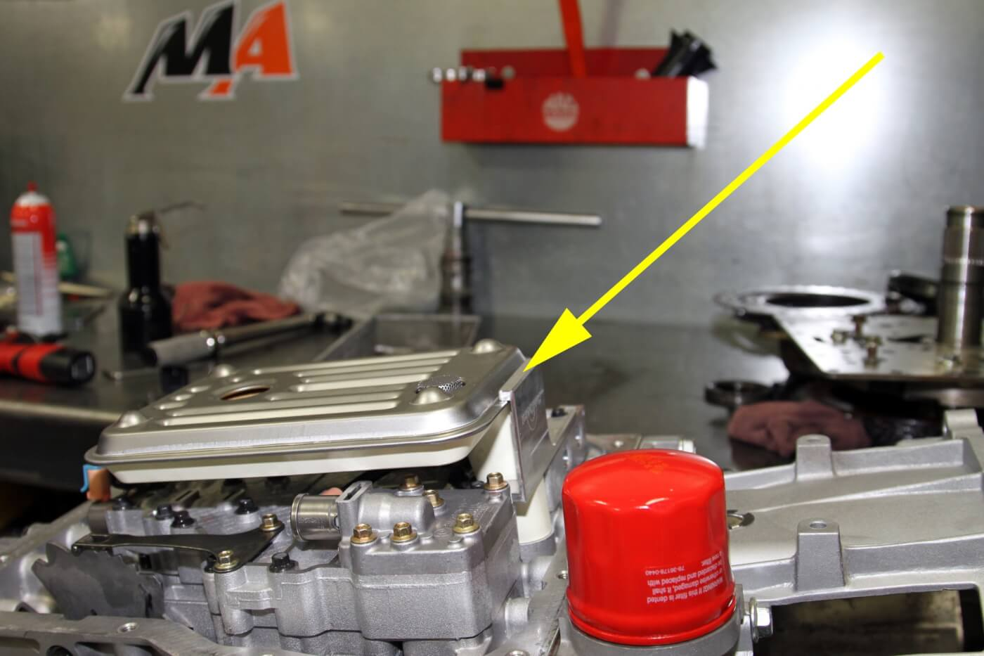 Since they use an Allison deep transmission pan and filter on the MA450  transmission
