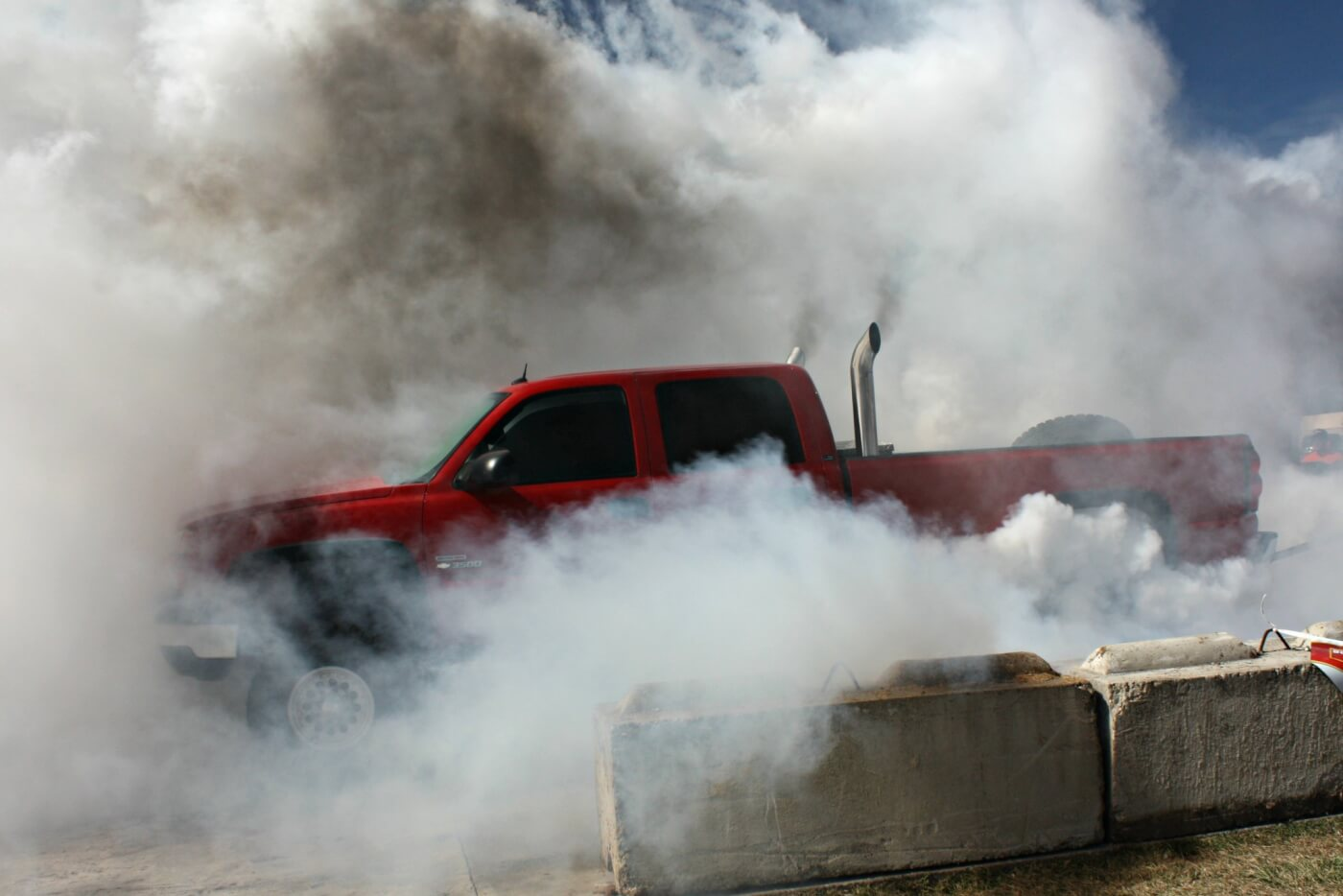 Not a whole lot to say about the burnout contest other than this guy was the obvious winner.