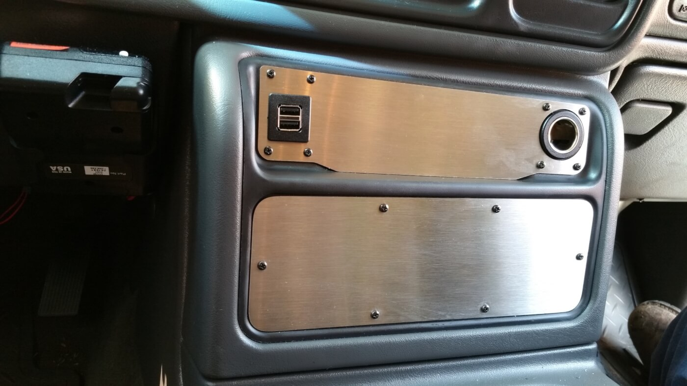 Longhorn Fab Shop Center Console Inserts