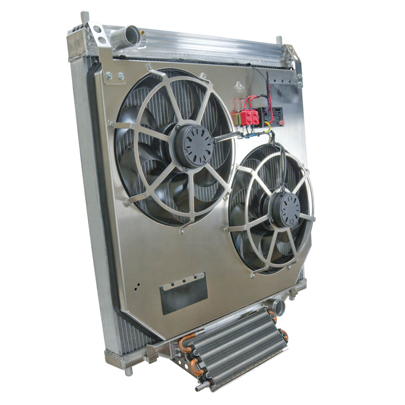 Flex-a-lite Aluminum Radiator and Dual-electric Fan System
