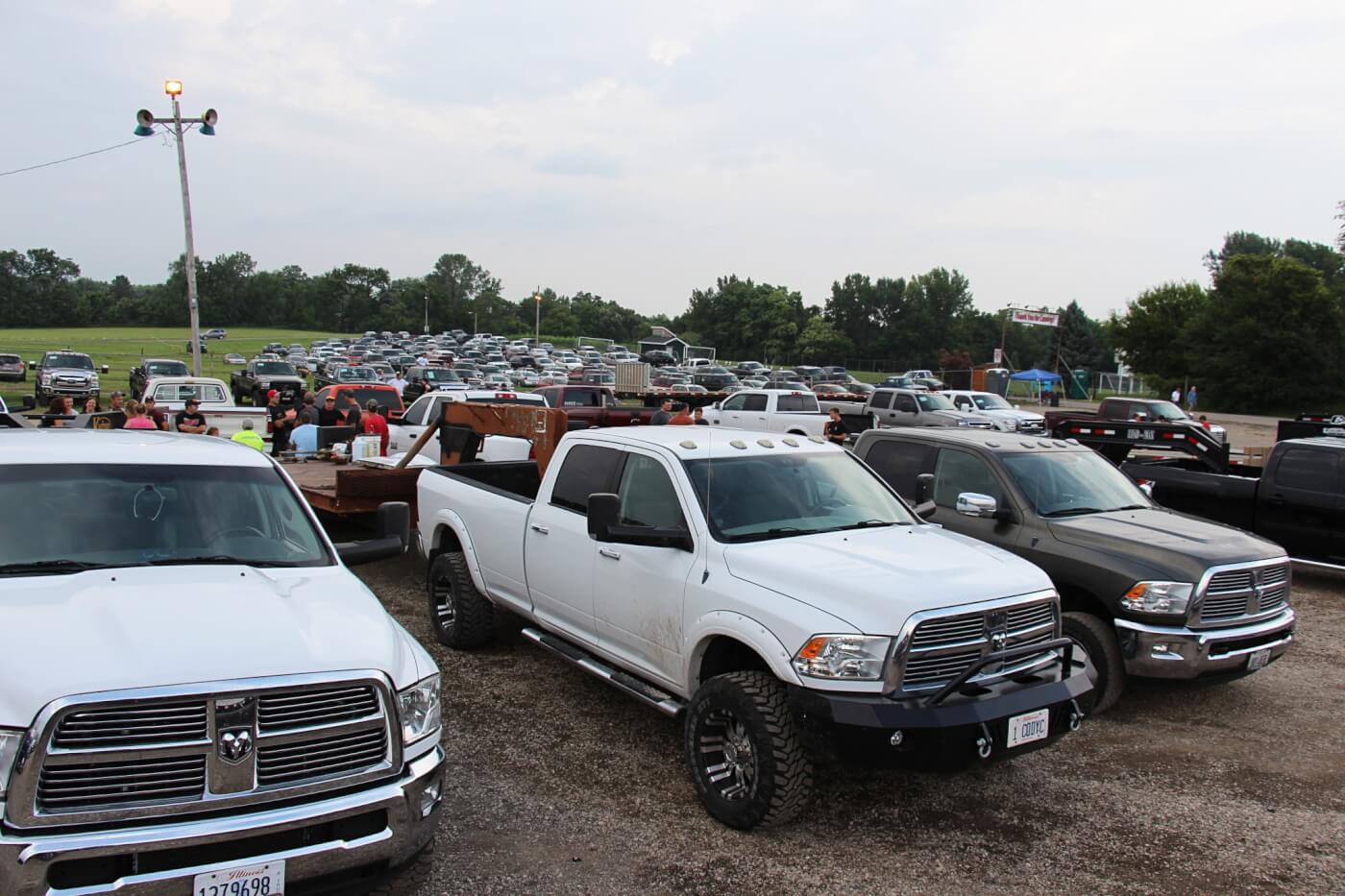 There were trucks as far as the eye could see at the 2015 Heart of Illinois Fair. While the fair hosts a sled pull virtually every night, we attended the last one—a truck pull put on by the Power Stroke gurus at River City Diesel. Classes consisted of Stock Turbo, Work Stock, Hot Street, and Open.