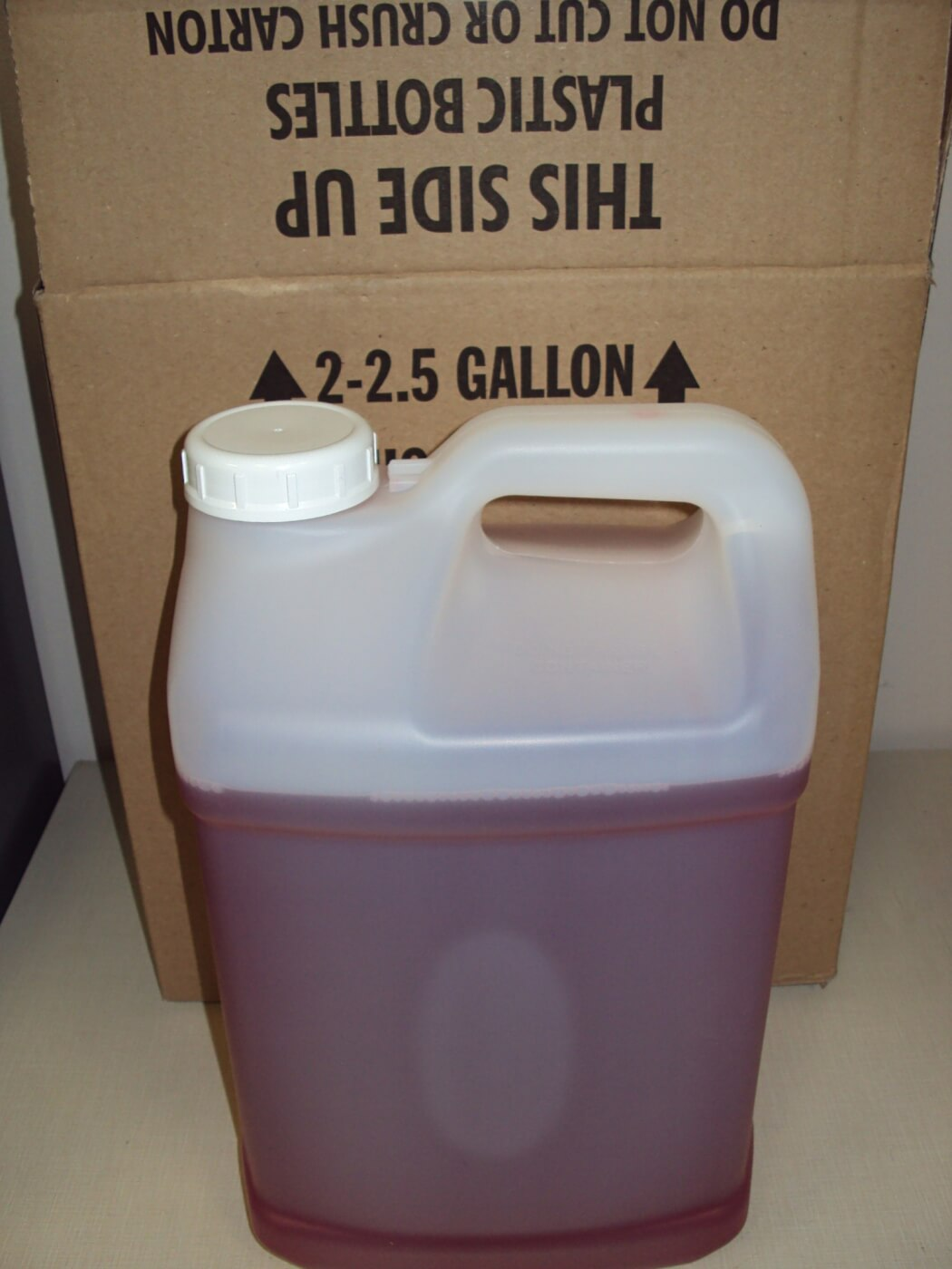 Scheid's high output diesel fuel can be had in two 2½-gallon plastic jugs, although many competitive sled pullers purchase a 55-gallon drum of it. Due to its chemical makeup, this particular version of Scheid fuel is illegal in some truck and tractor pulling organizations (LIGHTNING10912). However, Scheid also offers a fuel that can be ran legally in most sanctioning bodies (LIGHTNING10913).