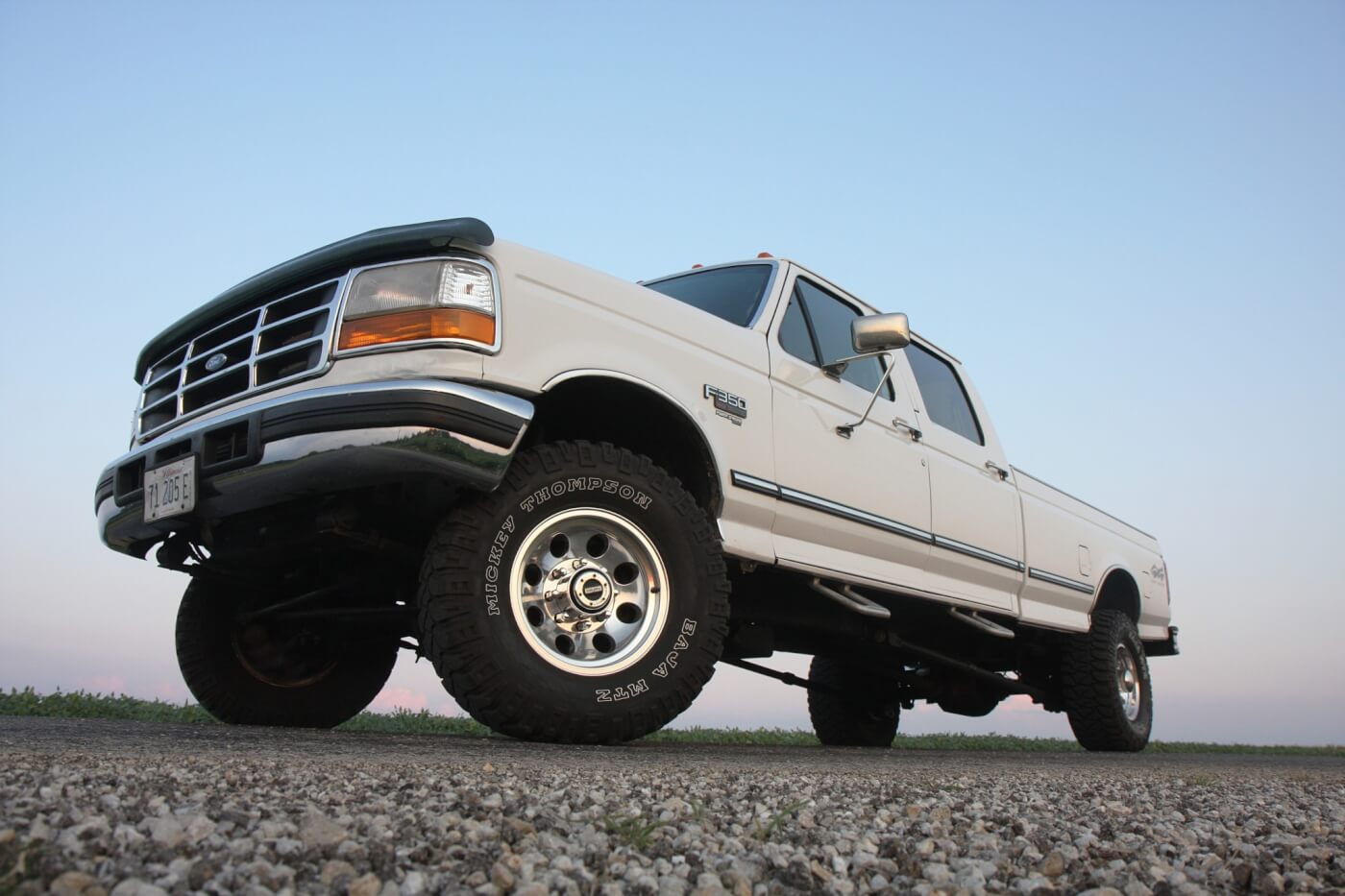 While our 1997 F-350 test mule had a parts combination capable of making 600-rwhp, the 195,000-mile stock bottom end 7.3L under the hood had to be tuned conservatively in order to stay in one piece, and remain a reliable daily driver. With an owner not yet willing to spend money on a built engine, not wanting to bump up timing any more (harder on parts), yet wanting to go faster, there was really only one thing left to try. And that's exactly how the idea for this test was born.
