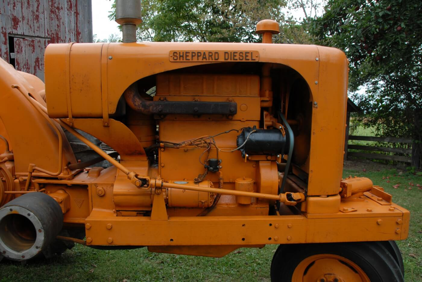 sheppard diesel tractor