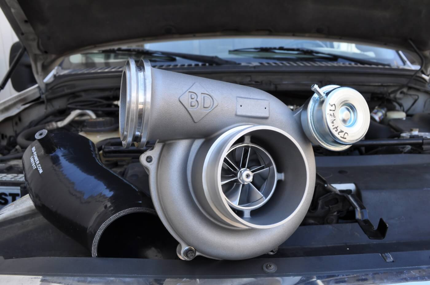 1. BD Diesel Performance's Turbo Thruster II GTP38 for the 7.3L Power Stroke.
