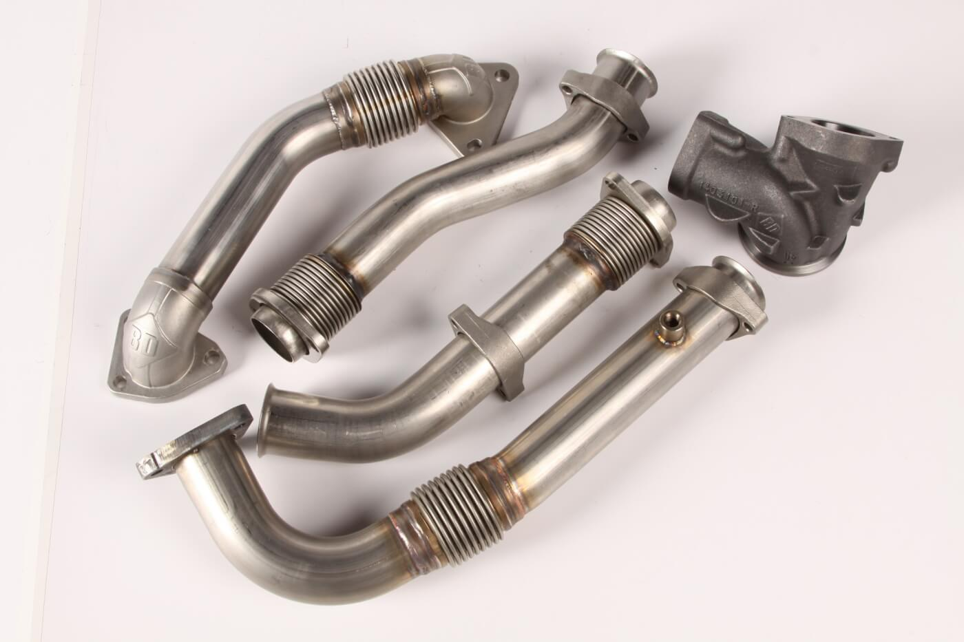 Turbocharger Feed Up-Pipe Systems