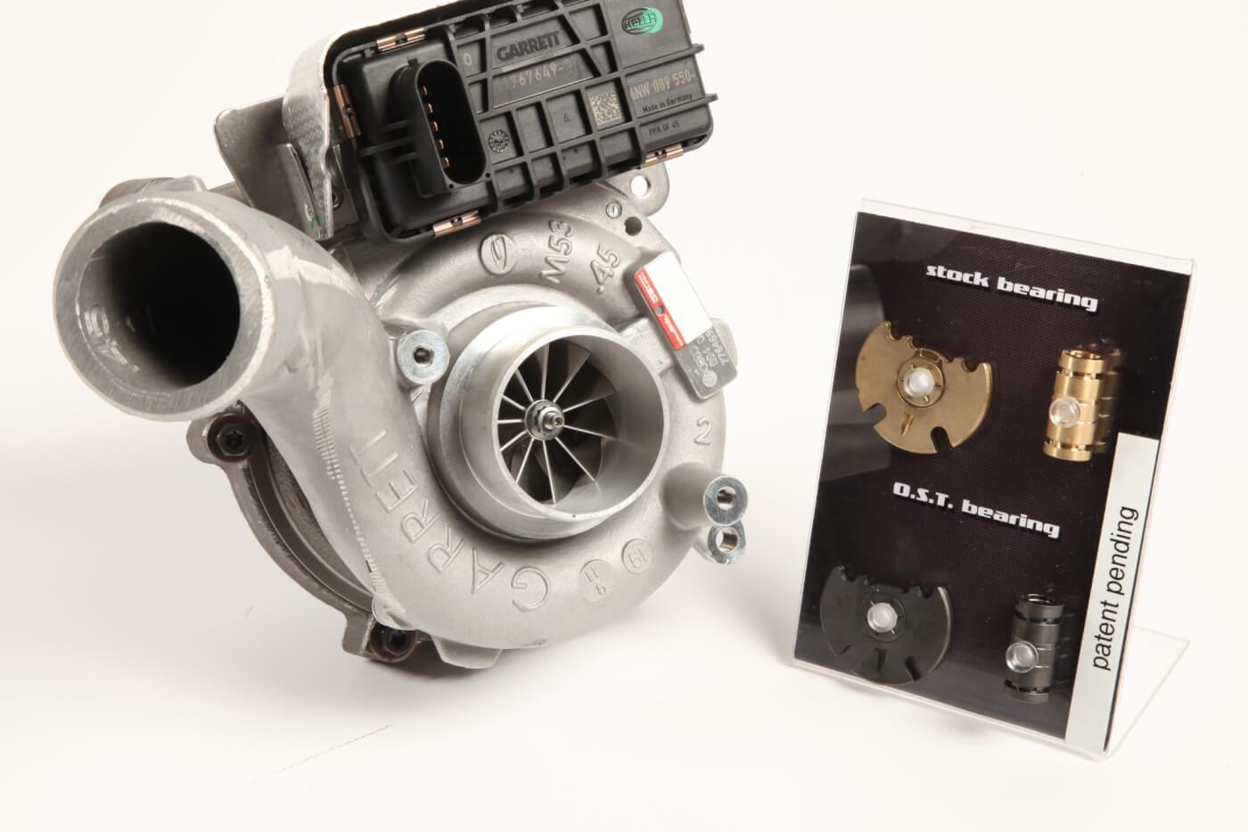 German-Made Upgrades for Turbochargers