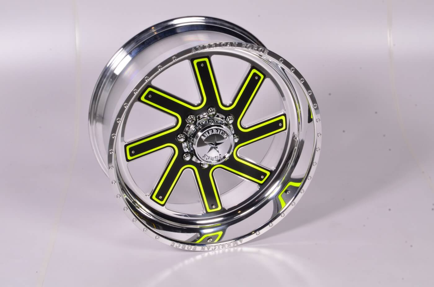 American Force Wheels Faceplate Series - Thor FP8