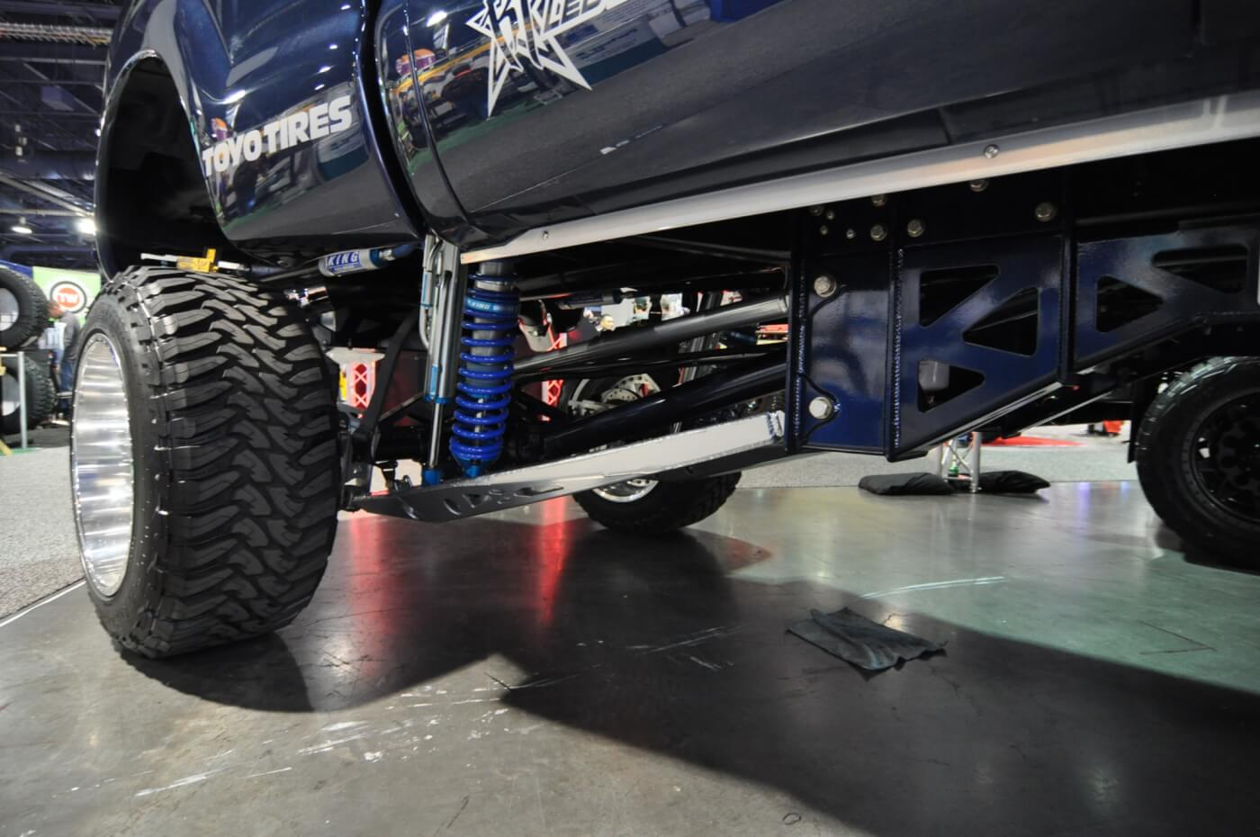 Allout Offroad Performance built one of, if not the cleanest and most well thought out Fords we saw all week. In terms of usability, and quality of mod's done, it's one we'd be extremely proud to drive every day.
