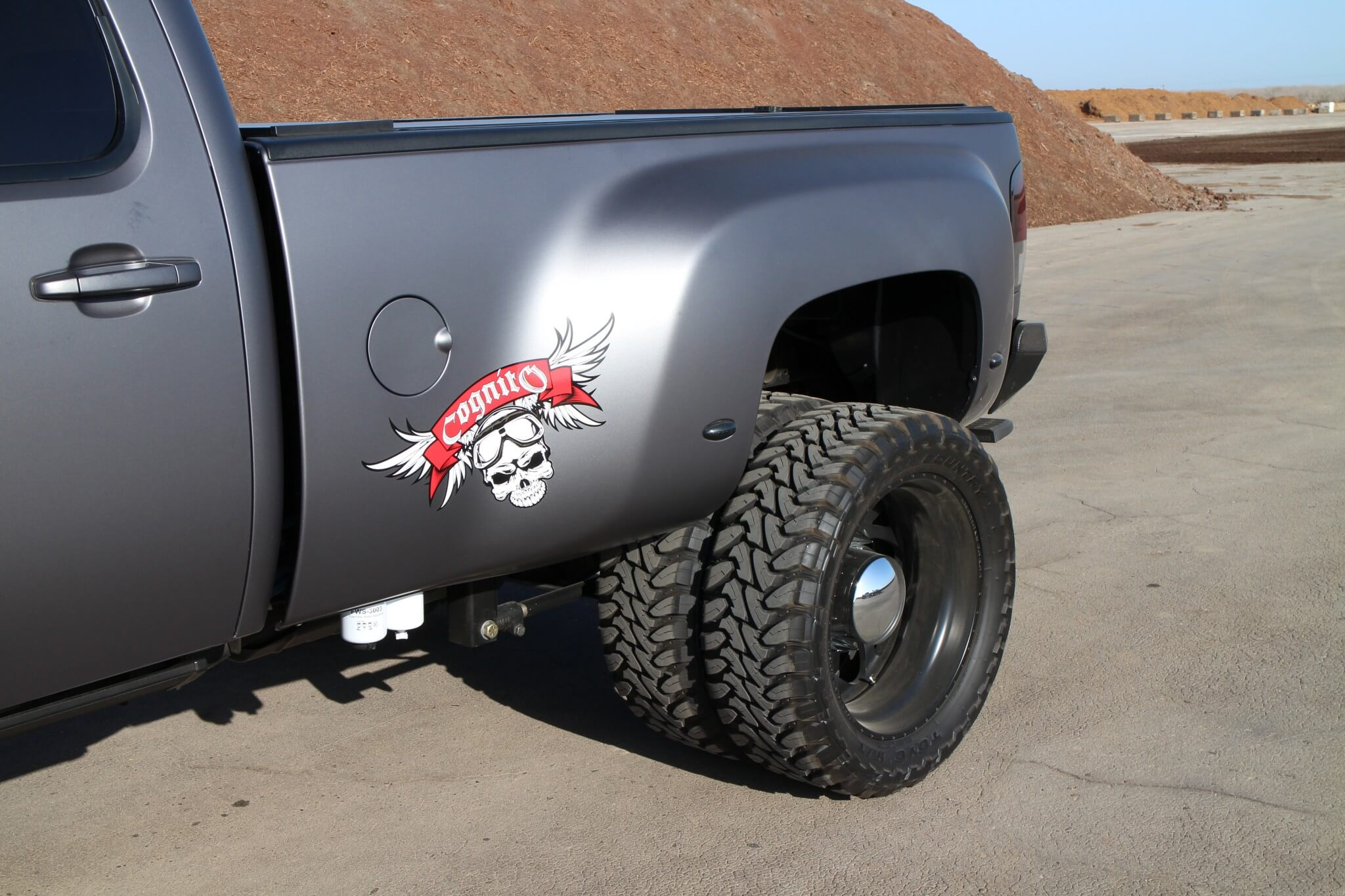 The Main Emphasis Of Build Was To Convert A Silverado Standard Bed Into Dually