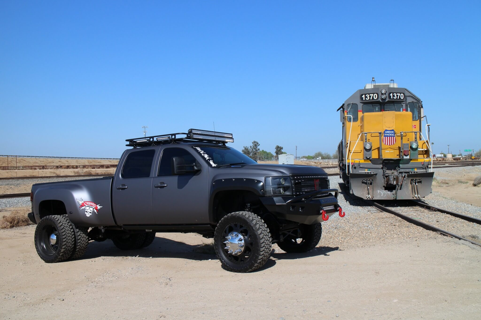Diesel vs. diesel.