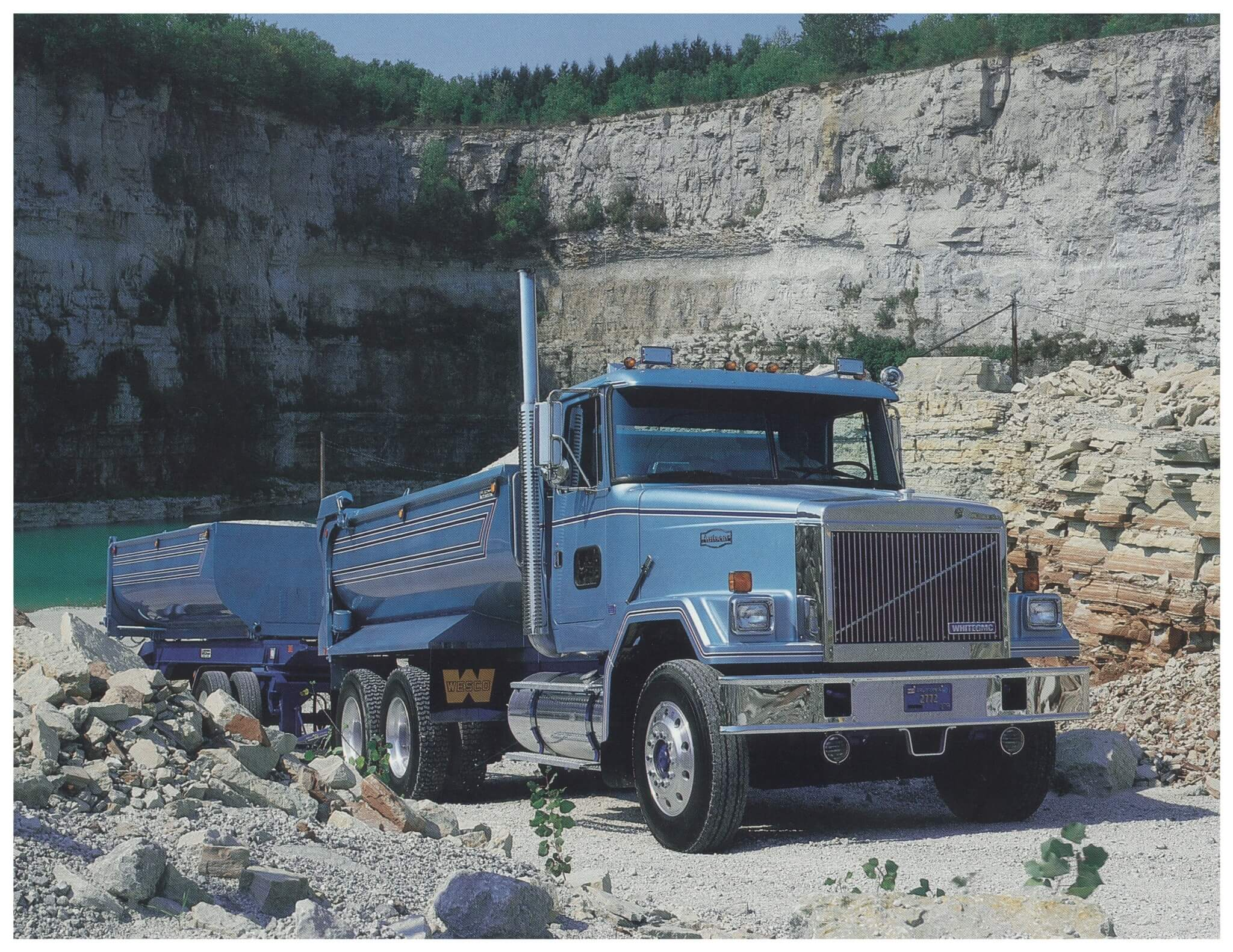 Volvo purchased the total assets of White Motors and that included Autocar. GM's heavy-duty truck line was later added. After the brand component merger, this fine example of a White/GMC/Autocar diesel conventional was one result.