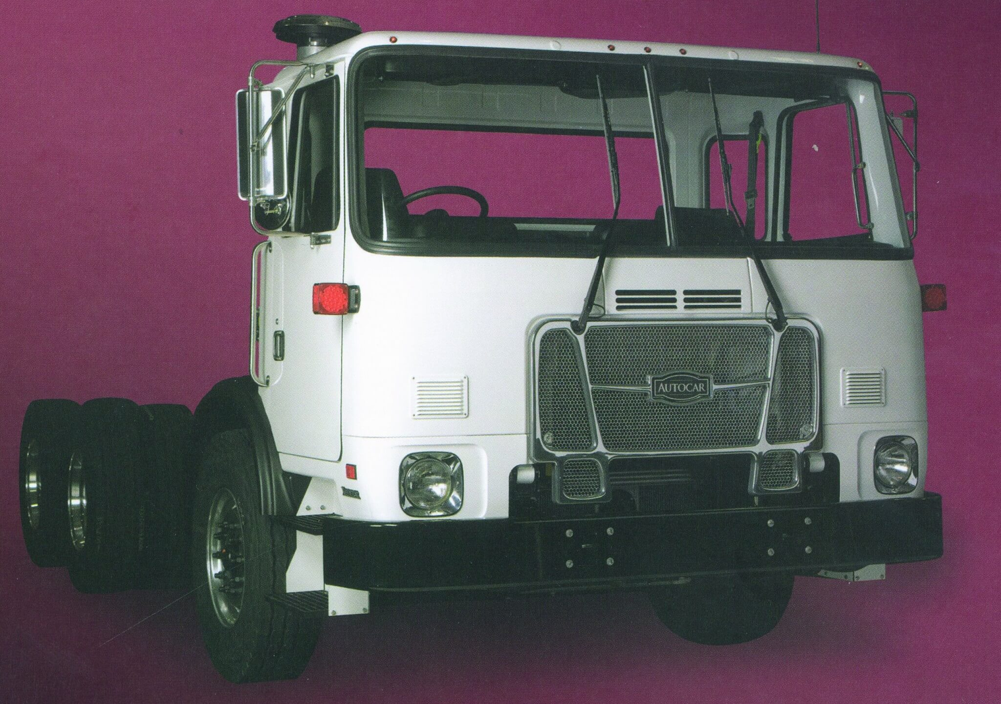In 2001, Volvo sold the Autocar brand and the Xpeditor ACX chassis to Grand Vehicle Works Holdings LLC.