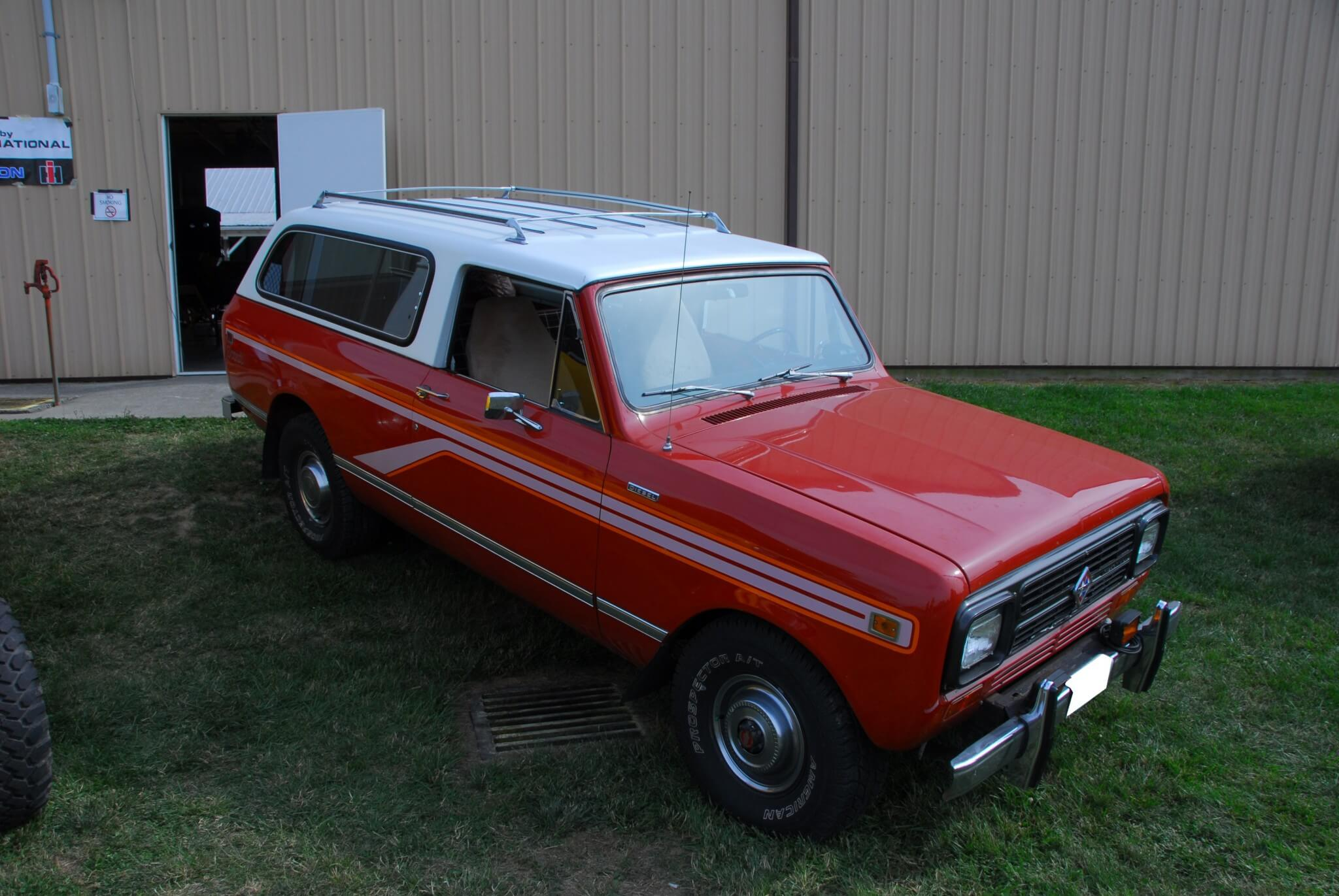 The Traveler SUV replaced the legendary Travelall. Though it only came as a two-door, it had plenty of room for six passengers. Towing capacity was the same as the other Scouts, about 10,000 lbs. Carl and Mary Kindberg's 1980 Traveler came from Nebraska in 2006, and the engine failed a few months later. The Kindbergs transplanted a rebuilt SD-33T with what have now become typical mods: Mercedes 300D turbine housing and impeller, modified exhaust, and a turned-up pump. On a recent 1,800-mile trip, the Traveler averaged 21.9 mpg.
