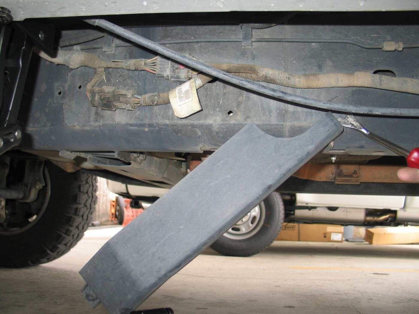 Bestops Retracting Running Boards Cj8 Scrambler Wiring Harness On The Frame Rail Under Drivers Door Is A Factory Wire Cover