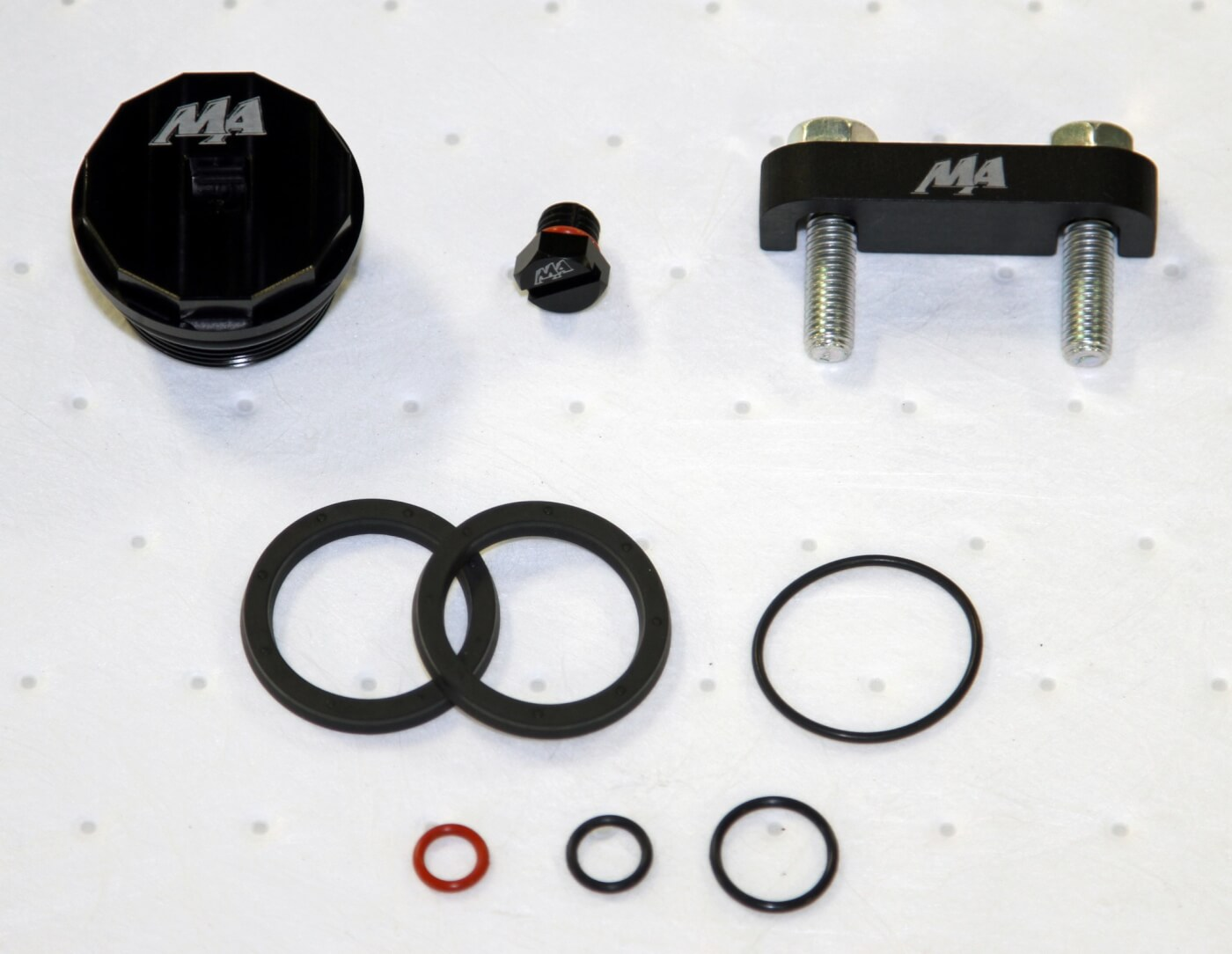 Merchant Automotive's Master Filter Head Kit includes everything seen here  as well as a