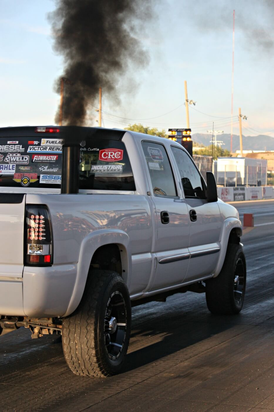 Is there anything better than a little diesel drag racing on a Friday night? We don't think so either.
