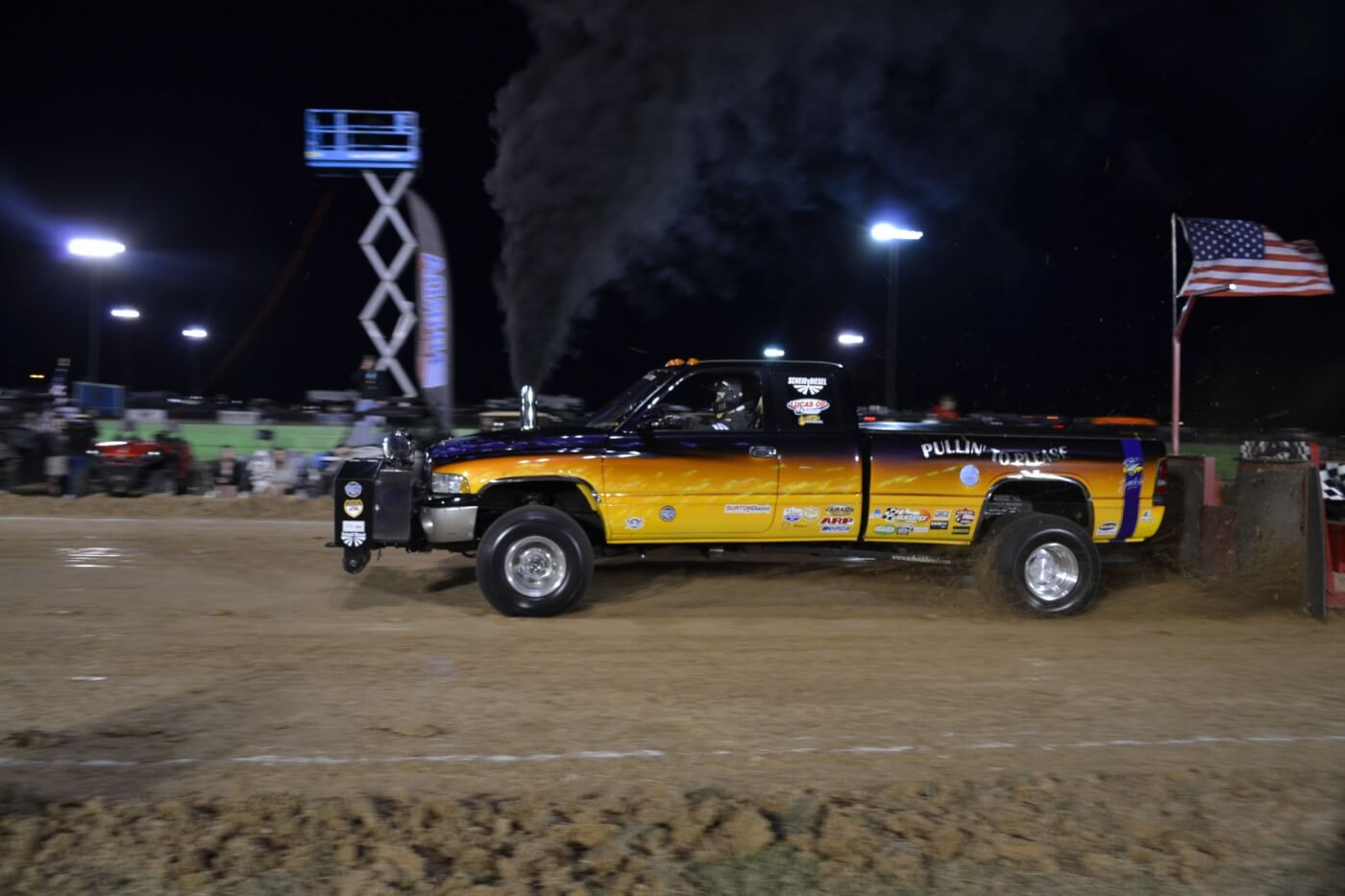 "The 3.0-inch turbo class also had its fair share of action, but in the end Josh Deeter's ""Pullin to Please"" truck ran away with it, pulling 334 feet, and putting 15 feet on the nearest 3.0 competitor."