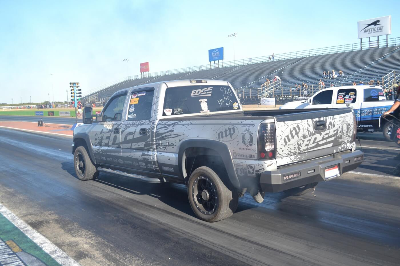 One of the fiercest competitors on the drag strip is Verlon Southwick, who made it to the final rounds of both Super Diesel and Sportsman. Verlon won the Super Diesel class, which also gave him the overall National Championship.
