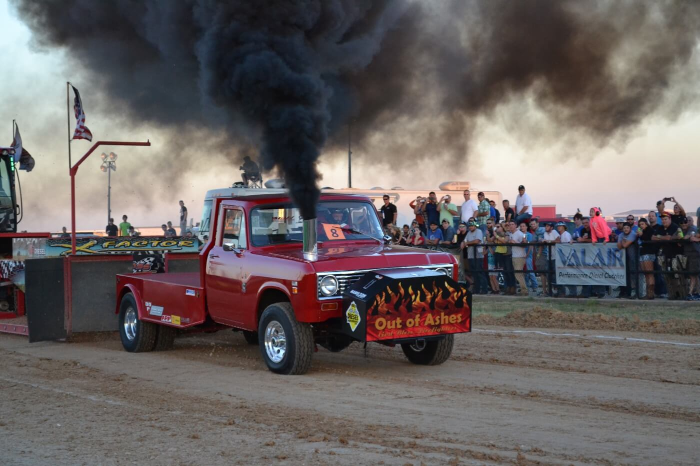 You never know what you're going to see at the World Finals, as competitors come out of the woodwork for this Texas-based event. This diesel-powered International puller was towards the back of the pack in the competition, but a crowd favorite.