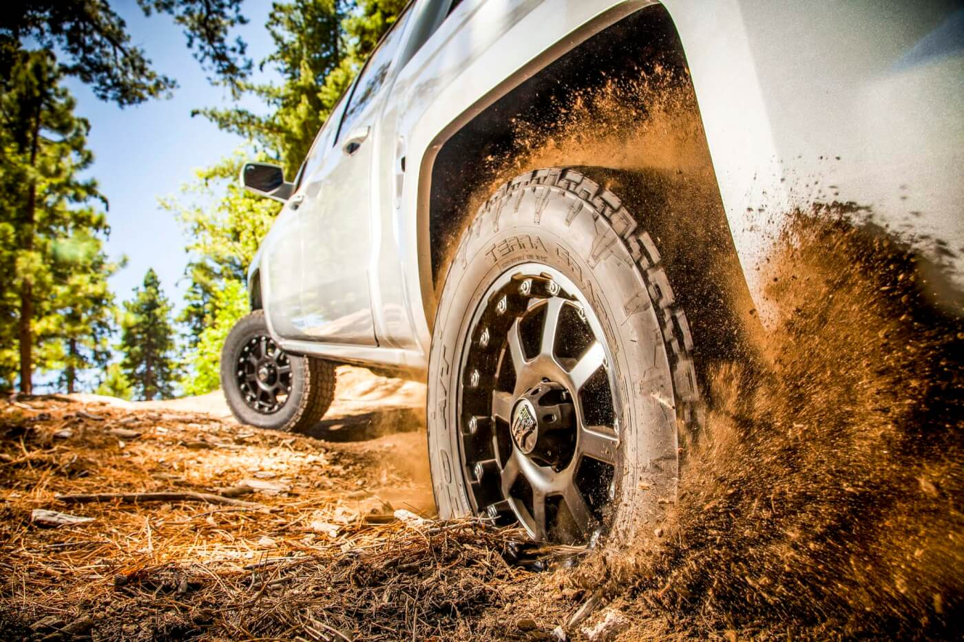 The Terra Grappler G2 is at home on the road and off pavement.