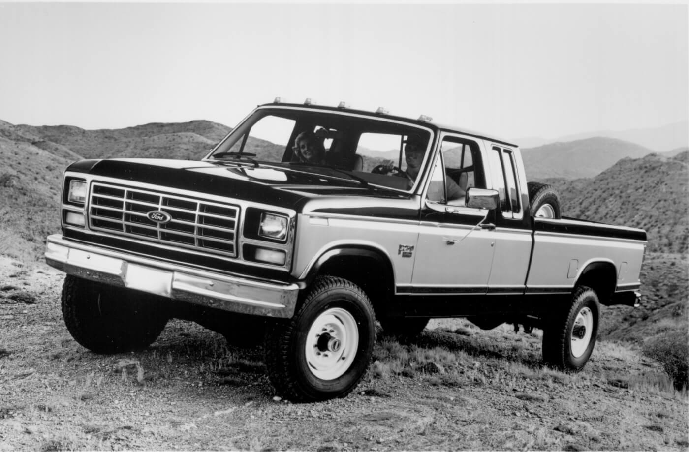 Fords 1st Diesel Pickup Engine 1986 Dodge Ram D250 Pictures Only The Ford Was In Full Swing When This 1984 F 250hd 4x4 Xl Made